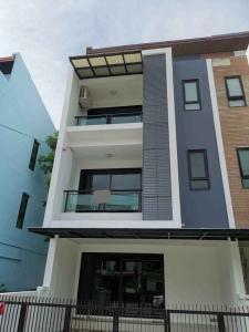 For RentHouseLadkrabang, Suwannaphum Airport : 3-storey home office, H2O Village, Bangna, Prawet