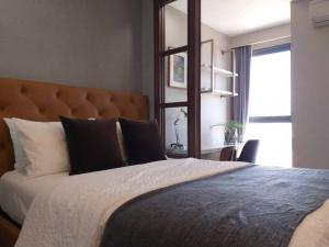 For RentCondoSiam Paragon ,Chulalongkorn,Samyan : ‼️For rent, very good price!!️Ideo Q Chula, very big room, 34 square meters, only 270 meters from the mrt #fully furnished, ready to move in, only 16,000 baht