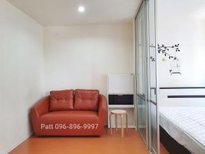 For RentCondoBangna, Lasalle, Bearing : For rent cheap 🔥5,500🔥 Condo Lumpini Mega City Bangna 23 sqm., 8th floor, Building D *corner room