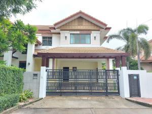 For RentHouseRattanathibet, Sanambinna : House for rent, behind the corner of Setthasiri Sanambinnam, 527 sq m, 120 sq m, good condition