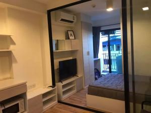 For RentCondoSamrong, Samut Prakan : For rent, The Cabana Condo, modern resort style condo.