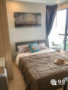 For SaleCondoBangna, Lasalle, Bearing : For sale Ideo O2 - 2Bed, size 47 sq.m., Beautiful room, fully furnished.