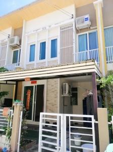 For SaleHouseRama5, Ratchapruek, Bangkruai : Townhome for sale, 2 floors, 1.99 million m. Golden Town. Chaiyapruek-Wongwaen, 18.5 sq m, usable area 120 sq m, 4 bedrooms, 2 bathrooms