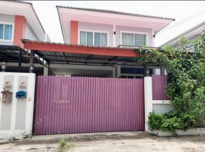 ขายบ้านบางใหญ่ บางบัวทอง ไทรน้อย : #หมู่บ้านรุ่งกานต์7 #บ้านแฝดสไตล์บ้านเดี่ยว ต่อเติมเต็มพื้นที่โครงการเงียบสงบ ตัวบ้านเหมือนบ้านใหม่