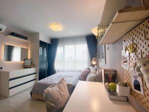 ขายคอนโดท่าพระ ตลาดพลู : Sale ห้องแต่งสวยพร้อมอยู่ คอนโดแอสปาย สาทร-ตากสิน (บริคโซน) ตึก 8 ชั้น 5 ทิศเหนือ (S2282)