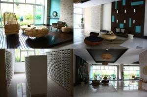 For SaleCondoKasetsart, Ratchayothin : Condo for sale, Supalai Park Kaset, studio room, pool view, separate kitchen (S2283)