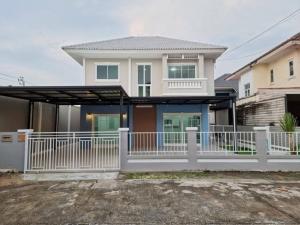For SaleHouseBangbuathong, Sainoi : house for sale Piyawararom Village, Soi 4, Ban Kluay - Sai Noi Road Nonthaburi Province