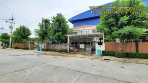 For SaleHouseMahachai Samut Sakhon : Single house for sale, Supalai Ville - Wongwaen, Rama 2, area 50 sq m., new phase, Main Road ^ no problem with parking.