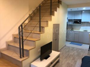 For RentCondoOnnut, Udomsuk : Duplex Best Price! Condo for Rent Near BTS Onnut - Ideo Mobi Sukhumvit @18,000 Baht/Month