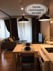 For RentCondoAri,Anusaowaree : Rent - Fynn Aree / 1 bed / 31.5 sq.m. / 2nd floor, near BTS Aree, rent 18,000