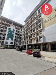 For SaleCondoMahachai Samut Sakhon : Condominium for sale, The Luxe Ekachai Khok Kham, Samut Sakhon.