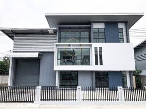 เช่าโกดังรังสิต ธรรมศาสตร์ ปทุม : ให้เช่าโรงงาน โกดัง พร้อมสำนักงาน 3 ชั้น ลำลูกกา คลอง 9 ปทุมธานี Factory, warehouse and office for rent, 3 floors, Lam Luk Ka, Khlong 9, Pathum Thani.