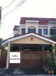 For SaleTownhouseKaset Nawamin,Ladplakao : Townhome for sale in Nuanchan (Soi Nuanchan 56)