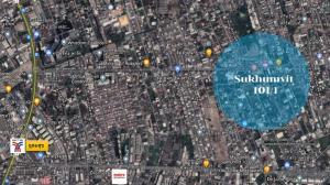 For SaleLandOnnut, Udomsuk : Land for sale, beautiful plot, Soi Sukhumvit 101/1 (Wachiratham Sathit Road)