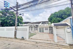 For RentHouseRama5, Ratchapruek, Bangkruai : For rent, 2 storey detached house, ready to move in, Tiwanon Road, near Big C Tiwanon and Big C Rattanathibet.