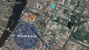 For SaleLandPha Nakorn, Yaowarat : Land for sale, corner plot in the heart of the city, Wisut Kasat Road, cheap price!