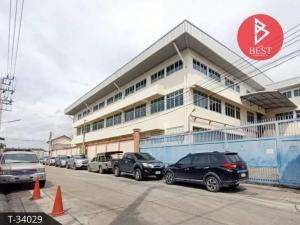 For SaleFactorySamrong, Samut Prakan : Factory warehouse for sale, 1 rai 1 ngan, 60.1 square wa, Phra Pradaeng, Samut Prakan.