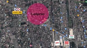 For SaleLandLadprao101, The Mall Bang Kapi : Land for sale, made Condo High Rise near BTS Lat Phrao 101 !