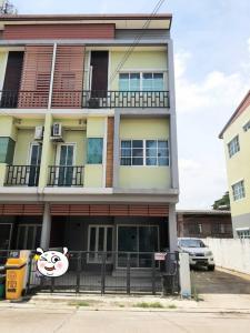 For RentTownhouseRama5, Ratchapruek, Bangkruai : Townhome for rent, behind the edge, next to Chaengwattana-Chaiyapruek Road (new cut), near the 18 court market, near Chaiyaphruek Police Station