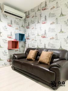 For RentCondoRama9, RCA, Petchaburi : For rent   Rhythm Asoke   1Bed , size 31 sq.m., Beautiful room, fully furnished.