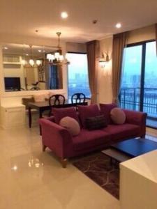 For SaleCondoRama9, RCA, Petchaburi : Condo Villa Asoke 2 bedrooms for sale with tenant Villa Asoke condo 2bed for sale