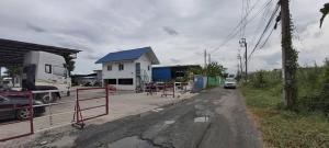 For RentLandRamkhamhaeng,Min Buri, Romklao : LS206 Land for rent with buildings, area 2 rai, Romklao area, near Home Mart Romklao, convenient to travel