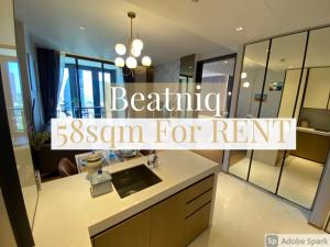 For RentCondoSukhumvit, Asoke, Thonglor : ***BE THE FIRST TENANT*** BRAND NEW HIGHT FLOOR 1 BEDROOM 58 SQ meter FOR RENT AT 56,000 BAHT Tel/Line: 094-162-4424