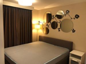 เช่าคอนโดพระราม 9 เพชรบุรีตัดใหม่ : เช่าbelle grand rama9 อาคาร A2 วิวเมือง ชั้น 10 ขนาดห้อง 42.76ตรม. ราคา 18,000