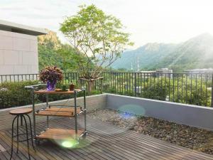 For SaleCondoKorat KhaoYai Pak Chong : Penthouse Khao Yai, big balcony, sleeping under the stars