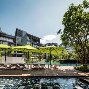 ขายคอนโดโคราช เขาใหญ่ ปากช่อง : Khao Yai 3bed 3bath Pool+Garden access Beautiful Fully furnished