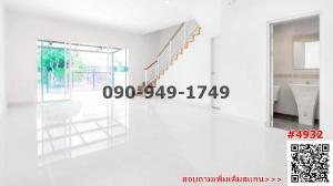 For RentTownhouseRama5, Ratchapruek, Bangkruai : For rent Townhome Pleno Ratchaphruek - Rama 5 ready to move in.