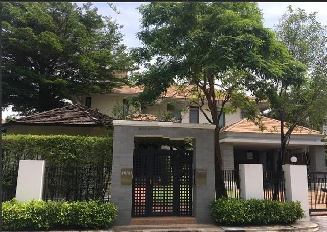 For RentHousePattanakan, Srinakarin : RH457 ให้เช่าบ้านเดี่ยว 2 ชั้น หมู่บ้านนาราสิริ พัฒนาการ-ศรีนครินทร์ ซอยศรีนครินทร์ 20  พร้อมจัดเฟอร์นิเจอร์ให้ครบทุกห้อง