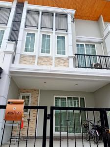 For SaleTownhousePattanakan, Srinakarin : Townhome 2 floors Notting Hill Golden Town 2 Bangna - Suan Luang 21.8 square wah