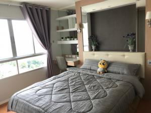 For RentCondoRattanathibet, Sanambinna : RB1079 **For rent with washing machine** Condo LUMPINI PARK RATTANATHIBET - NGAMWONGWAN, size 35, Building D, 8th floor, complete electrical appliances, ready to move in.