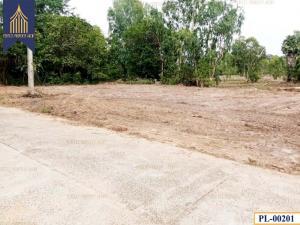 For SaleLandUbon Ratchathani : Land next to concrete road, Krasob, Ubon Ratchathani