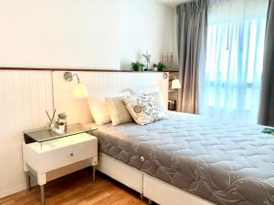 For RentCondoPattanakan, Srinakarin : ✅ For rent, Lumpini Ville Phatthanakan - Srinakarin, near Airport link, size 28 sq.m., with furniture and electrical appliances ✅