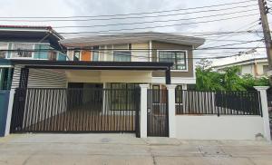 For SaleHouseRattanathibet, Sanambinna : ขายบ้านเดี่ยว 2 ชั้น 5 ห้องนอน ซอยเรวดี 65 ตำบลตลาดขวัญ นนทบุรี