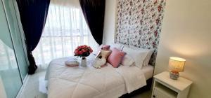 For RentCondoRattanathibet, Sanambinna : Condo for rent with fully furnished near MRT Yaek Nonthaburi 1 Condo for rent with fully furniture