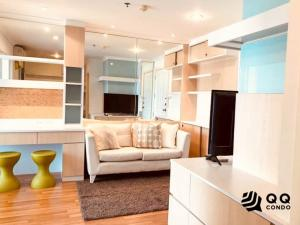 For SaleCondoRama9, RCA, Petchaburi : For Sale Lumpini Place Rama 9-Ratchada 1Bed, size 34 sq.m., Beautiful room, fully furnished.