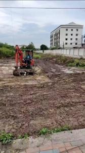 For SaleLandBangna, Lasalle, Bearing : vacant land for sale Next to Wat Sri Waree Noi Road, Bangna km. 18