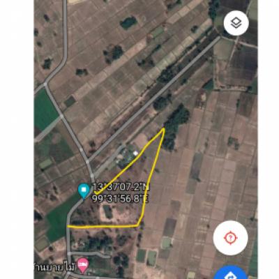 ขายที่ดินราชบุรี : ที่ดินสวย มีโฉนด 20 ไร่ 24 ตร.วา ติดถนนลาดยาง หน้
