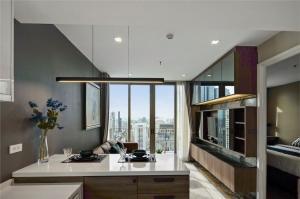 เช่าคอนโดสาทร นราธิวาส : B003 Nara 9 for rent. 1 bed 43 sqm. 40 floor.