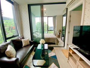For RentCondoKasetsart, Ratchayothin : B004 Ciela Sripatum 1 bed corner unit for rent.