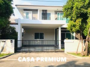 For SaleHouseBangna, Lasalle, Bearing : HP-6360047 House for sale, Casa Premium, On Nut-Wongwaen.