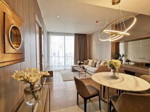 เช่าคอนโดวงเวียนใหญ่ เจริญนคร : A519 Magnolias Waterfront Residences 1 bed 60.59 sqm. 29 floor. for rent.