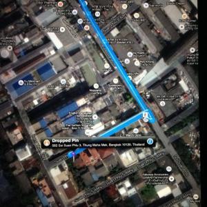 For SaleHouseSathorn, Narathiwat : Single house for sale in Sathorn, area 100 square wah. (Soi Suanplu 3)