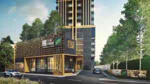 For SaleCondoSukhumvit, Asoke, Thonglor : {Selling at a landslide loss} The Tree Sukhumvit 71-Ekkamai, 2 bedrooms, 35.6 sq m., corner room, 25th floor. first come first serve