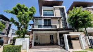 For SaleHouseRama9, Petchburi, RCA : ขายบ้านเดี่ยวลดด่วนเหลือ 19.8 ล้าน โครงการ Nirvana Beyond รามคำแหง พระราม9