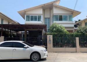 ขายบ้านสำโรง สมุทรปราการ : ขายบ้านเดี่ยว โครงการพฤกษาปูริ แสนแก้ว ซอย กิ่งแก้ว 37