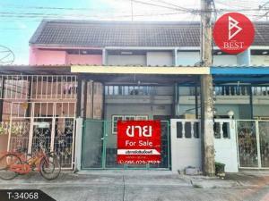 For SaleTownhouseSamrong, Samut Prakan : 2 storey townhouse for sale, Rom Pho Village 2, Thepharak, Samut Prakan.